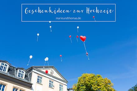 Geschenkideen zur Hochzeit  © Marie-Luise Recknagel ...