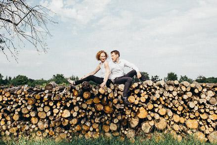 Fotoshooting für Verliebte in Erfurt • Susanne + Nico