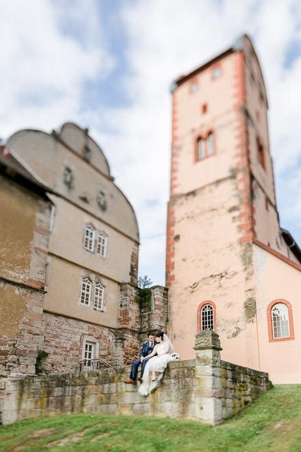Hochzeit auf Schloss Breitungen · Lisa + Steven