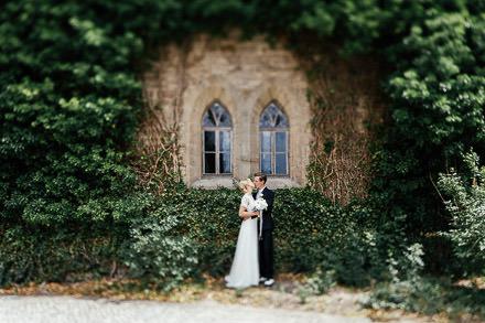 Hochzeit auf Schloss Ettersburg und im Dorotheenhof Weimar
