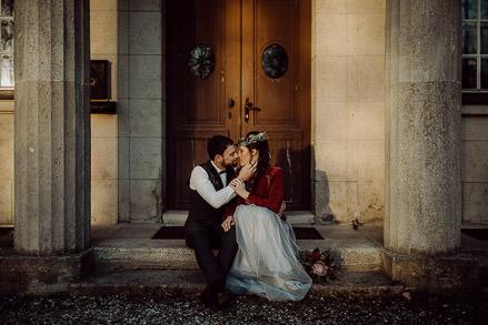 Hochzeitswahn Feature: Winterhochzeitsinspiration in der Villa Clausberg