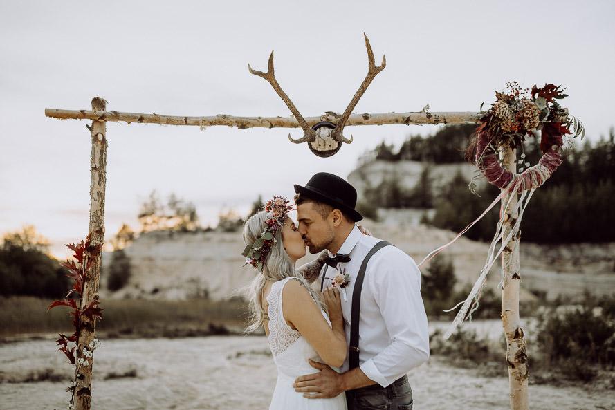 Boho Hochzeit in ThüringenŸ bei Erfurt